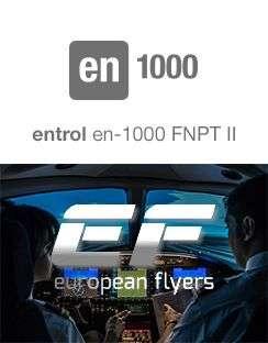 The en-1000 entrol simulator achieves FNPT II certification