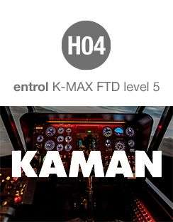 Entrol delivers a K-MAX® FTD Level 5 simulator to Kaman Aerospace