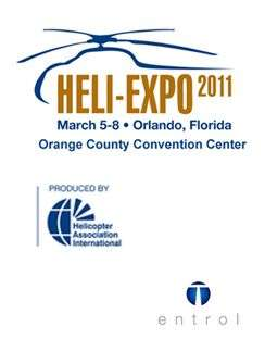 Entrol attended Heli-Expo 2011 in Orlando