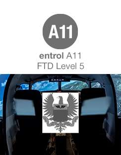 Entrol sells an A11 / B350GT FTD Level 5 simulator to the Colombian Air Force.