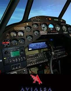 entrol A12 / FTD Level 2 simulator for Avialsa