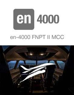 Entrol sells an en-4000 FNPT II MCC simulator to Turin Flying Institute