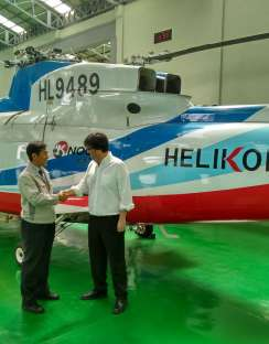 Helikorea acquires a H19/AW109 FTD Level 5 simulator