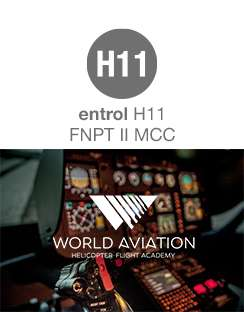 World Aviation purchase an H11 / H135 FNPT II MCC simulator from Entrol.