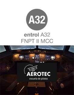 AEROTEC AND ENTROL UPDATE THE A32 FNPT II MCC SIMULATOR