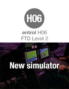 Entrol has launched a Bell 505 FTD level 2 simulator