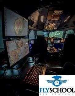 Flyschool acquires an entrol A32 FNPT II MCC