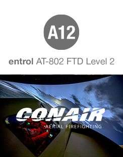 Conair purchases an entrol AT-802 FTD Level 2 simulator