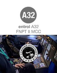 Entrol sells an A32 FNPT II MCC to Cannes Aviation