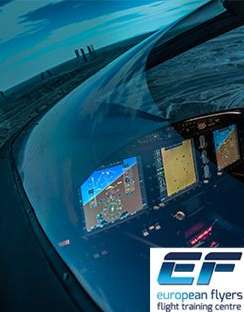 European Flyers has purchased the first en-1000 FNPTII simulator