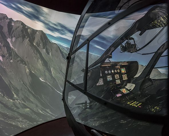 entrol H11 /  EC135 FTD level 2 simulator