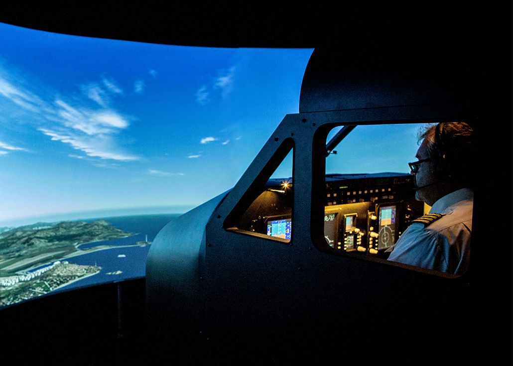 entrol A11 / King Air B350GT FNPT II MCC simulator