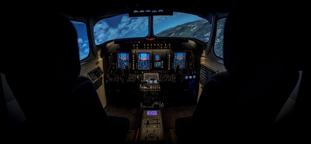 entrol A11 / King Air B200GT FNPT II MCC simulator