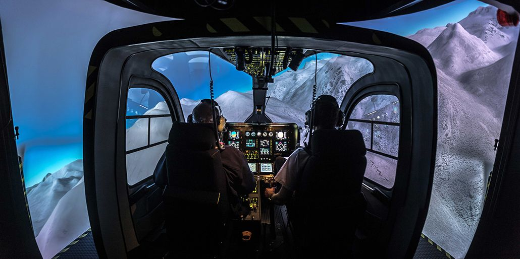 entrol H11 / EC135 FTD Level 5 simulator