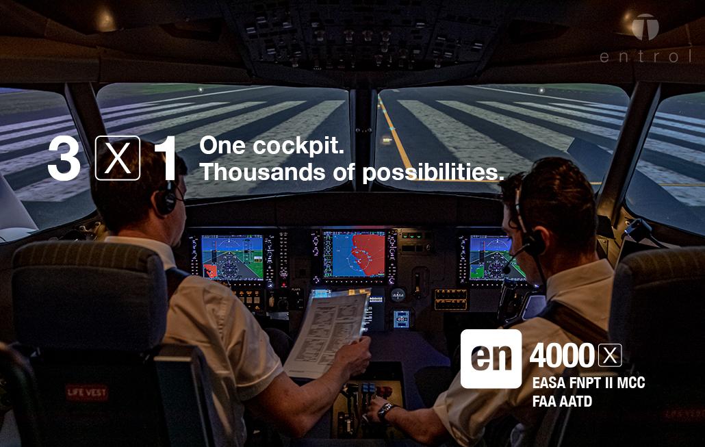en-4000x FNPT II MCC / AATD simulator